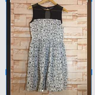 Get Laud 2 Tone Floral Dress