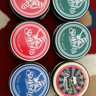Pomade wax for hair