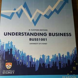 BUS1001 Understanding Business