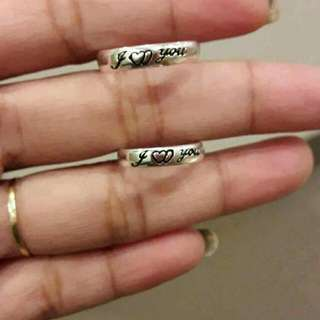 Couple ring (free engrave)