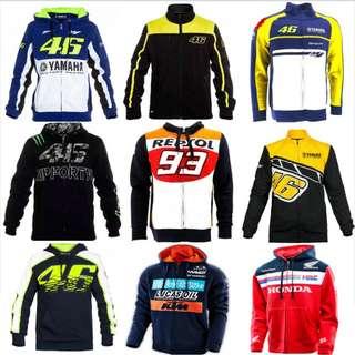Motorbike MotoGP Racing cotton sweather VR46 46 yamaha Repsol 93 Honda KTM monster energy hoodie shirt kawasaki sponsers
