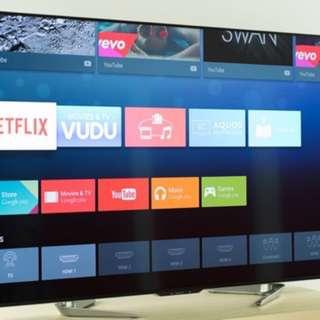 """【限時特價】Sharp Aquos 80"""" 4K Smart TV"""