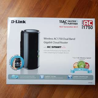 Dlink DIR-868L AC1750 Router (price negotiable)