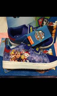 Instock authentic paw patrol shoe size 16.3-21cm brand new