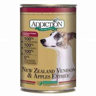 Addiction NZ Venison and Apples (for dog) 13.8oz