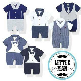 Little Gentleman Baby Outfit