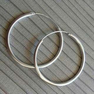 Loop earrings (size: 5 pesos)