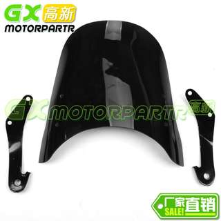 Smoke Black Blue Transparent Honda CB400SF CB400 super 4 vtec spec 1 2 3 revo I II III windshield windscreen screen wind shield