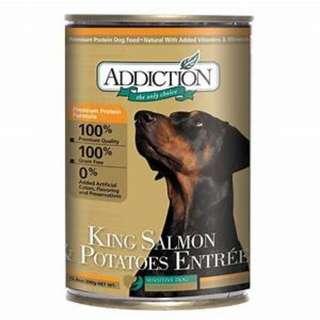 Addiction King Salmon and Potatoes (for dog) 13.8oz