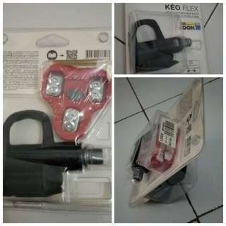 Pedal keo flax coque