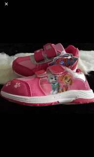 Instock now !! While stock last !!  Authentic Paw Patrol Skye shoe brand new size Available 25-29