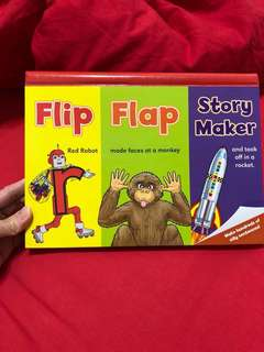 Letterland flip flap story maker