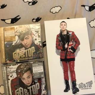 🚚 GD&TOP oh yeah 日版 兩張合售