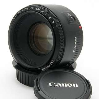Canon EF50mm f/1.8 II Prime Lens