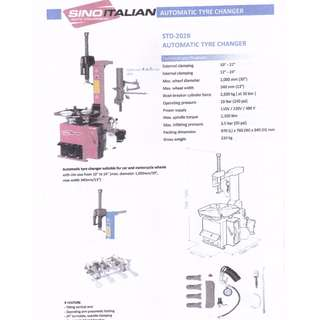 SINO ITALIAN Automatic Tyre Changer