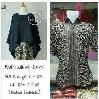 Couple batik wear