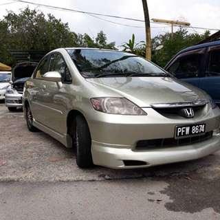 Honda city 1.5(a) blst muka rm2000