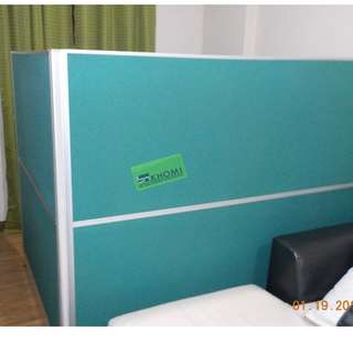 3.2 THICKNESS FULL FABRIC PARTITION OFFICE DIVIDER