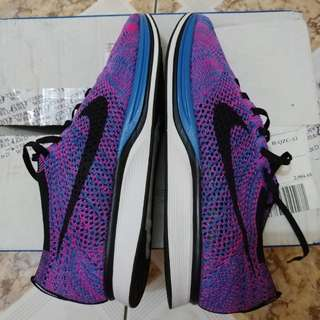 Nike Flyknit Racer Game Royal Size 11 US