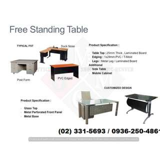 freestanding desk_office partition * furniture