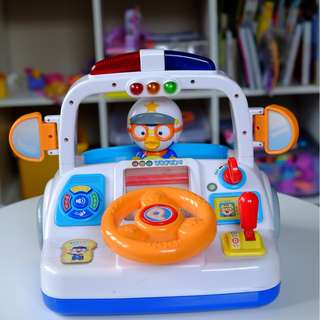 Pororo driving toy