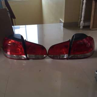 VW Golf MK6 taillight rear light set