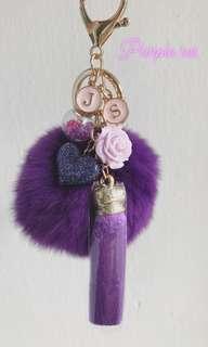 Purple Theme Bagcharm