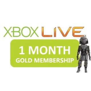 XBOX Live Gold 1 Month subscription