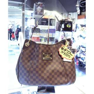 LV Louis Vuitton Brown Damier Shoulder Hand Bag 路易威登 啡色 格仔 棋盤花 老花 手挽袋 手袋 肩袋 袋