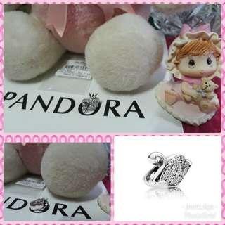 Pandora Majestic Swan Clear CZ Charm