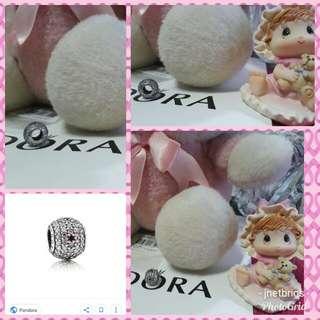 Pandora Pink Shimmering Blossom Charm