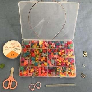 BN DIY jewellery making beads set