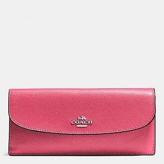 Coach F54008 soft wallet