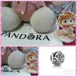 Pandora Mystic Floral Clear CZ Charm