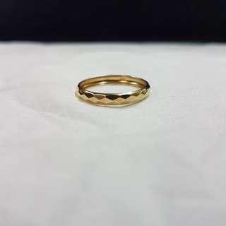Gold ring 14k (0.9 g)