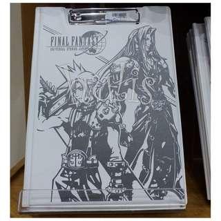 【代購】日本環球影城Final Fantasy原子筆 Memo紙 A4 File套裝