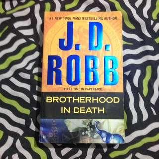 JD Robb brotherhood in death