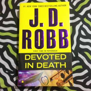 JD Robb devoted in death