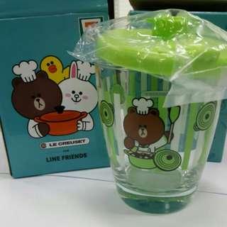 7-11 line綠色杯