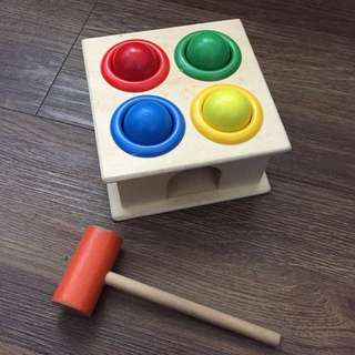 Montessori Wooden Toy for Baby and Toddler