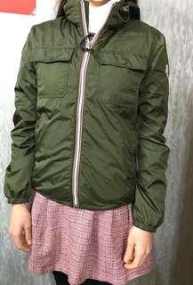 Moncler 小童14碼外風衣內羽絨