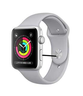 Apple Watch S3 全新100% 未開封 42mm 霧灰色