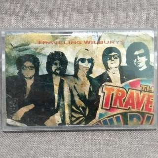 arthcd THE TRAVELLING WILBURYS Vol. 1 Cassette Tape (GEORGE HARRISON, BOB DYLAN, TOM PETTY, ROY ORBISON, JEFF LYNNE)