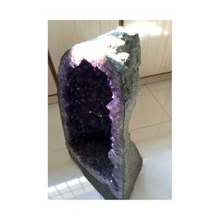 Amethyst Crystal Rock