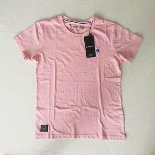 HangTen California Light Pink Cotton Tshirt