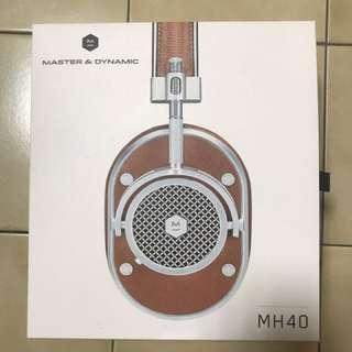 Master And Dynamic MH40 耳罩式耳機
