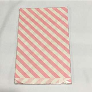 CLEARANCE SALES {Stationary - Gift Bag} BN DAISO Brand Pink Paper Bag GIFT BAG