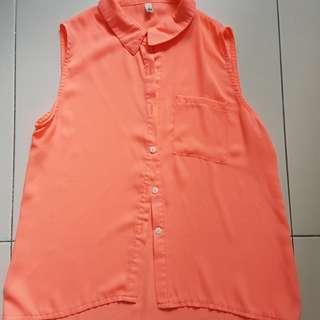 Bold Orange Top