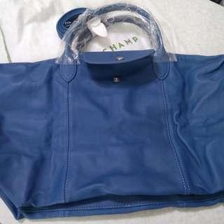 Longchamp 羊仔皮手袋