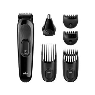 Braun Face & Head Trimming Kit Grooming 6 in 1 Hair Beard Trimmer for Men MGK3020